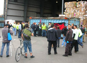 "IWW History: ""Berkeley IWW Recycling Workers Unite in Solidarity to Win Better Contracts"" – 2008"